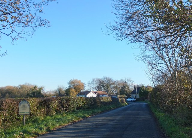 Parish boundary, Out Rawcliffe