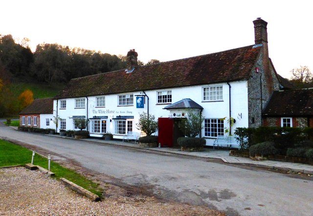 "The ""White Horse"" at Chilgrove"