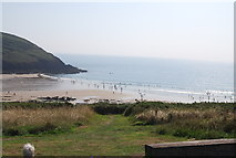 SS0597 : Manorbier Bay by N Chadwick