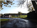 TM2460 : Entrance to Brandeston Hall by Adrian Cable
