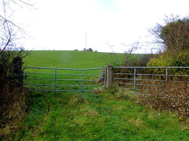 A low hill at Camphill