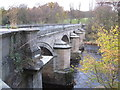 NZ0561 : Bywell Bridge and the River Tyne by Les Hull