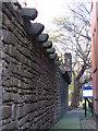 NZ2464 : Town Wall, passageway off St. Andrew's Street, NE1 (2) by Mike Quinn