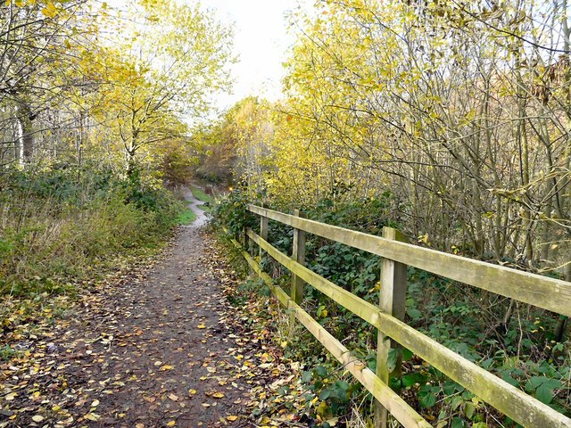 Entrance to Trans Pennine Trail