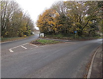ST7681 : Western end of the B4040 in Old Sodbury by Jaggery