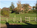 SK6314 : Stile, kissing gate and sunken road by Alan Murray-Rust