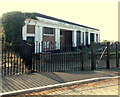 ST1166 : Disused public conveniences in Friars Road, Barry Island by Jaggery