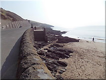 ST1166 : Eastern edge of a wide sandy beach at Barry Island by Jaggery