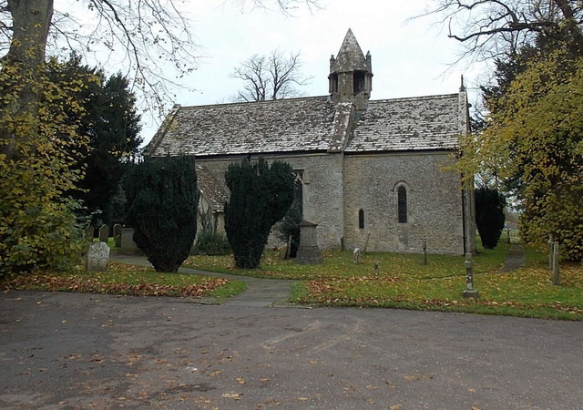 South side of St. Mary's church, Acton Turville