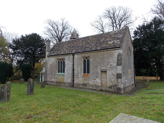 North side of St. Mary's church, Acton Turville