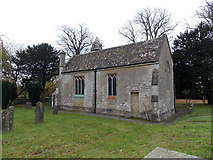ST8080 : North side of St. Mary's church, Acton Turville by Jaggery