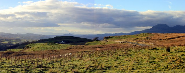 View towards the Vale of Ffestiniog by Jeff Buck