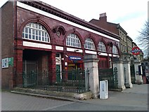 TQ2785 : Belsize Park tube station by David Martin