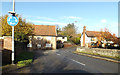 TG2306 : Stoke Road, Lavenham by Adrian Cable