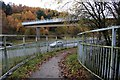 SK3576 : Footbridge over the A61 Dronfield by-pass. by Graham Hogg