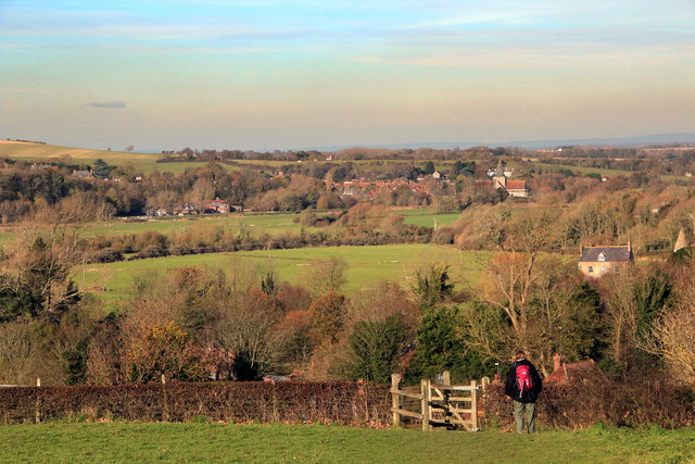 Approaching Litlington