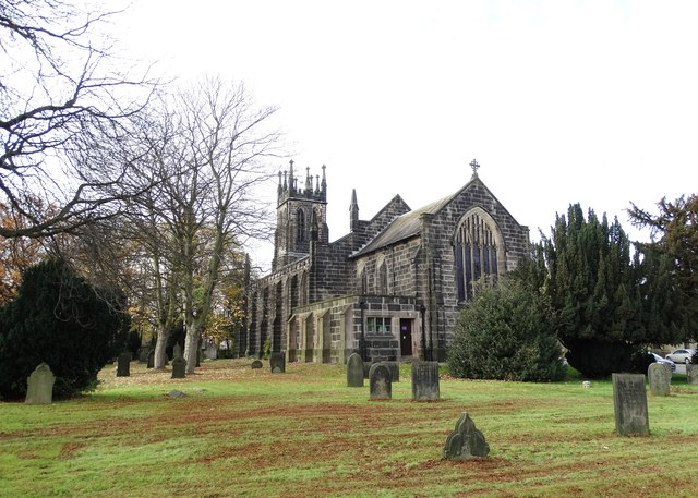 St Thomas's Church in Brampton, Chesterfield