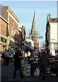 SK3871 : Down town Chesterfield by Neil Theasby