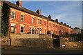 SO8504 : Stroud - terrace houses off Field Road by Chris Allen