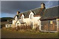 NH4560 : Derelict house, Glensgaich by Dorothy Carse