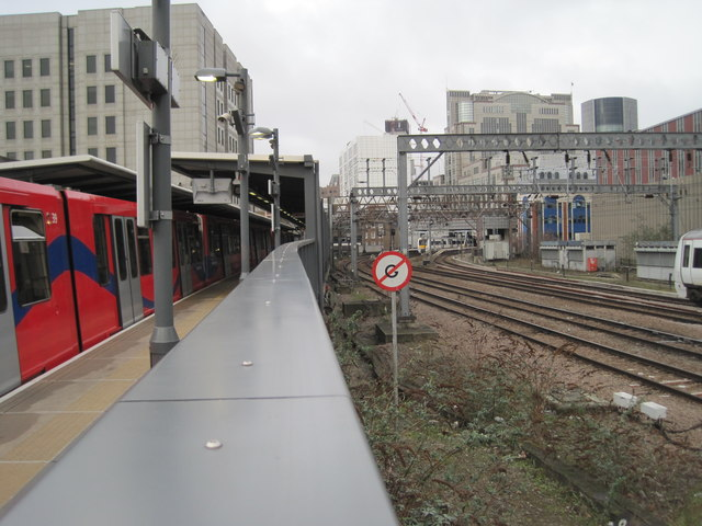 Tower Gateway DLR and Minories railway station (site)