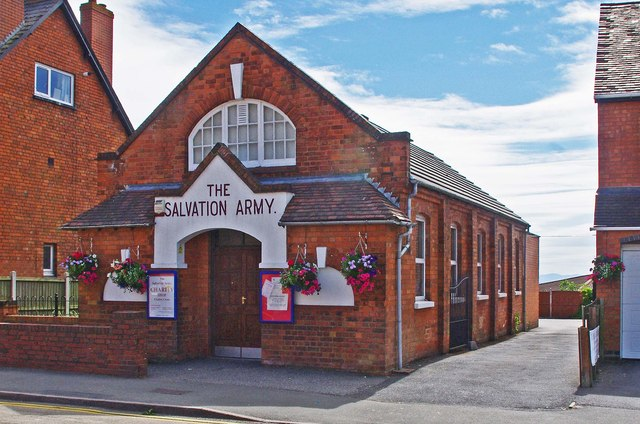 The Salvation Army Charity Shop (1), 496 Evesham Road, Crabbs Cross, Redditch