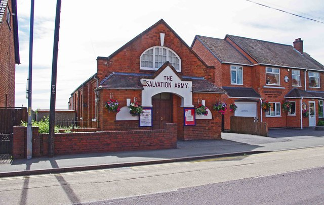 The Salvation Army Charity Shop (2), 496 Evesham Road, Crabbs Cross, Redditch
