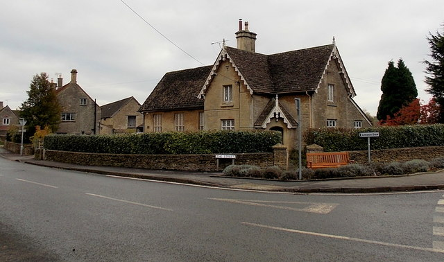 The Old School and Old School House, Acton Turville