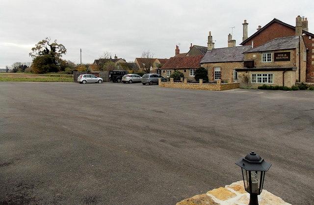 Fox & Hounds car park, Acton Turville