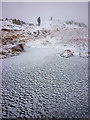 NY3908 : Freezing conditions, Red Screes summit by Karl and Ali