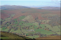 SO2718 : View to Waun Fach and Waun Fawr by Philip Halling