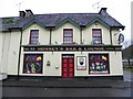 H4985 : Christmas decorations, Mossey's Bar, Gortin by Kenneth  Allen