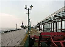 SD3036 : Blackpool North Pier by Gerald England