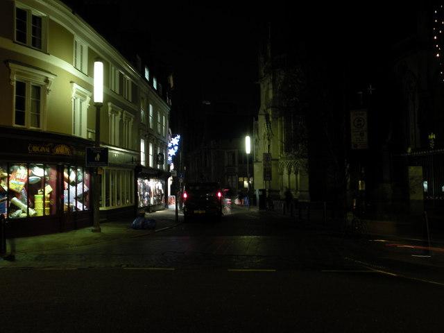 """Candlelight"" in St John's Street"
