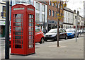 "J4187 : ""K"" telephone box, Carrickfergus by Albert Bridge"