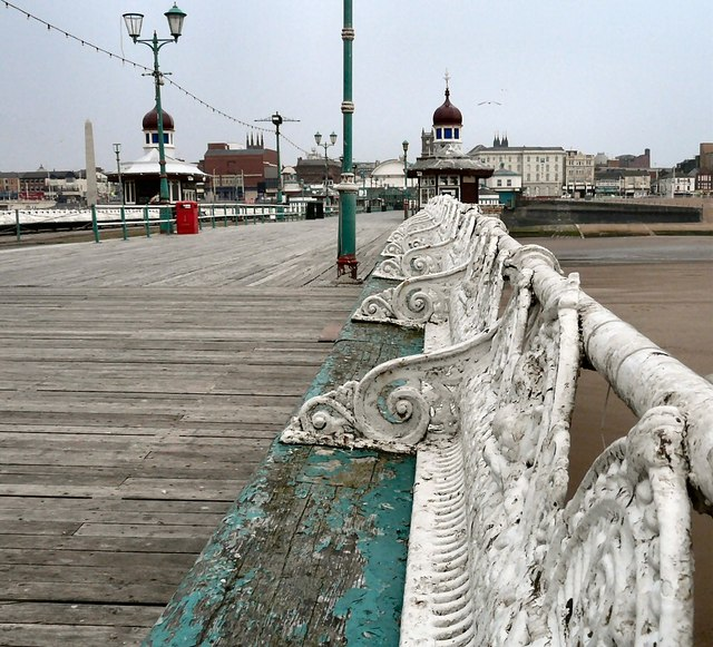 Benches on North Pier
