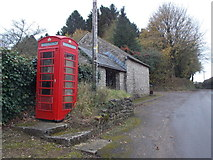ST5707 : Melbury Osmond: the telephone box by Chris Downer