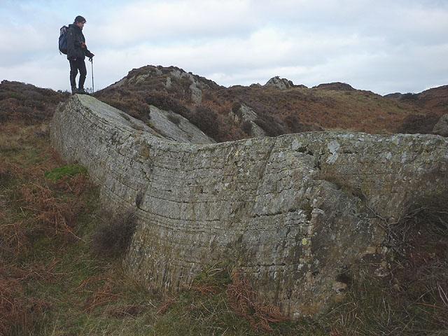 Silurian strata, Bethecar Moor