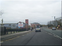 SD6311 : Chorley New Road by Horwich War Memorial by Colin Pyle