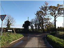 TM2692 : Church Road, Topcroft by Adrian Cable