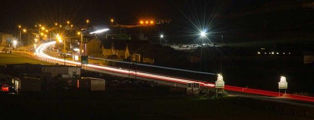 Stirling Village at Night
