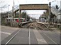 TQ5578 : Purfleet railway station, Essex by Nigel Thompson