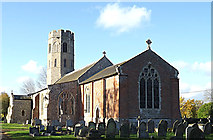TM2692 : St.Margaret's Church, Topcroft by Adrian Cable