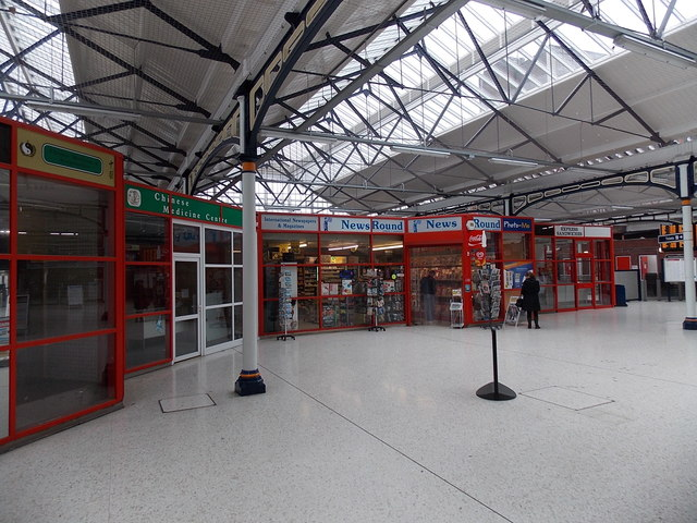 Shops in Portsmouth & Southsea railway station