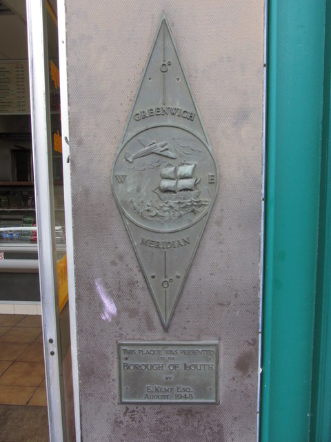 Greenwich Meridian, Eastgate, Louth