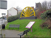 SK4346 : Heanor mining memorial by Trevor Rickard