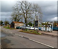 SO4703 : Filling station in Llanishen Monmouthshire by Jaggery
