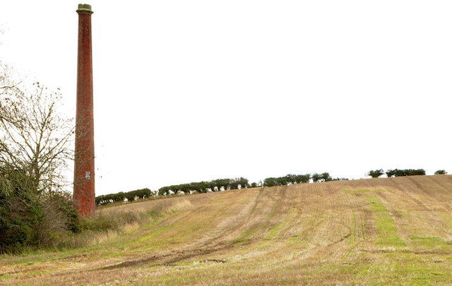 Old mill chimney, Unicarval, Comber