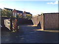 SP3265 : Lock-up garages off West Street by Robin Stott