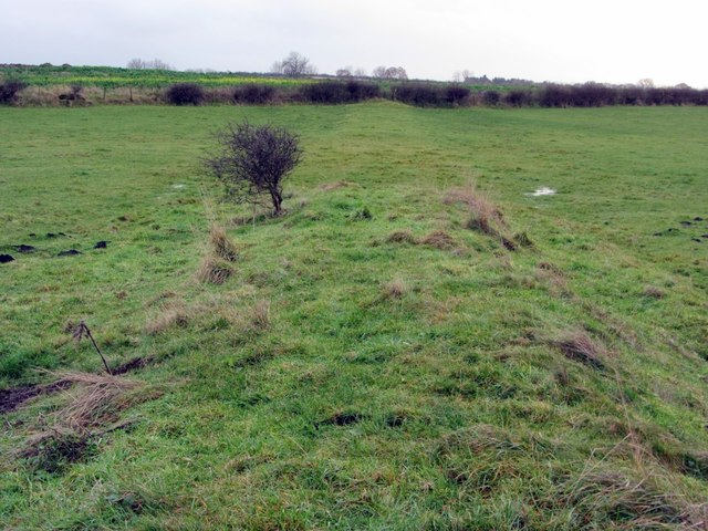 Embankment of former Walbottle Waggonway (eastern branch)